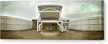 1002-0548 Judge Parker's Famous Gallows Canvas Print by Randy Forrester