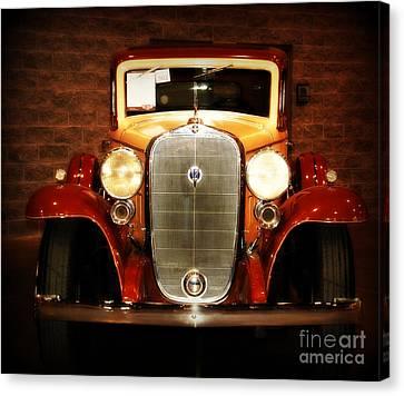 12v Collector Car Canvas Print by Susanne Van Hulst