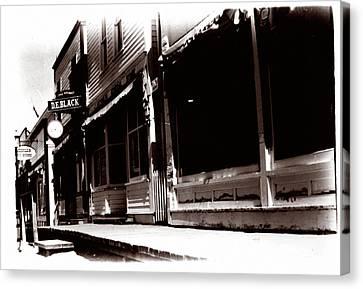 1900 Sidewalk  Canvas Print by Marcin and Dawid Witukiewicz