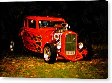 1932 Ford Coupe Hot Rod Canvas Print by Phil 'motography' Clark