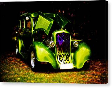 1933 Plymouth Hot Rod Canvas Print by Phil 'motography' Clark