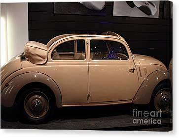 1938 Mercedes Benz 170h - 7d17311 Canvas Print by Wingsdomain Art and Photography