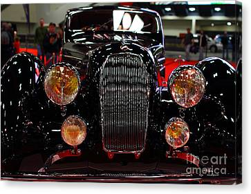 1938 Talbot Lago T150-c Speciale Teardrop Coupe . 7d9310 Canvas Print by Wingsdomain Art and Photography