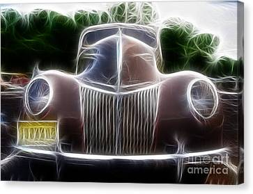 1939 Ford Deluxe Canvas Print by Paul Ward