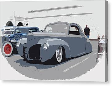 1940 Lincoln Canvas Print by Steve McKinzie