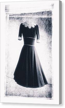 1950s Dress Canvas Print by David Ridley