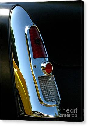 1953 Mercury Monterey Taillight Canvas Print by Peter Piatt