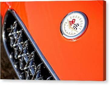 1955 Chevrolet Corvette Canvas Print by Gordon Dean II