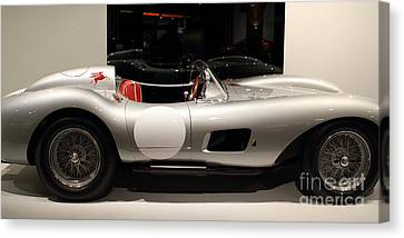 1957 Ferrari Testa Rossa- 7d17217 Canvas Print by Wingsdomain Art and Photography