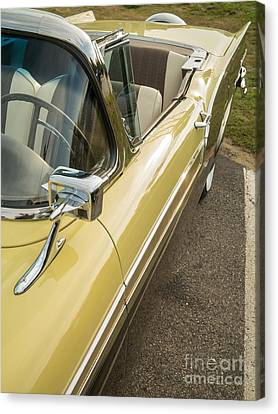 1957 Ford Fairlane 500 Skyliner Retractable Hardtop Convertible Canvas Print by Edward Fielding