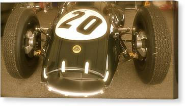 1958 Lotus Climax 16 Front Canvas Print by John Colley