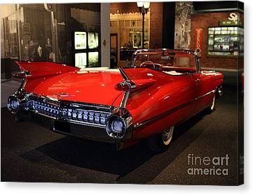 1959 Cadillac Convertible - 7d17376 Canvas Print by Wingsdomain Art and Photography