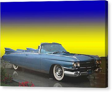 1959 Cadillac Convertible Eldorado Biarritz Canvas Print by One Rude Dawg Orcutt