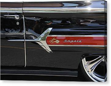 1960 Chevy Impala Canvas Print by Mike McGlothlen