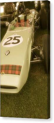1960 Lotus Climax 18 Canvas Print by John Colley