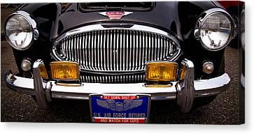 1962 Austin Healey 3000 Mkii Canvas Print by David Patterson