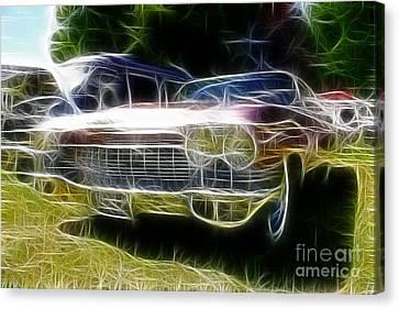 1962 Caddy Cadillac Canvas Print by Paul Ward