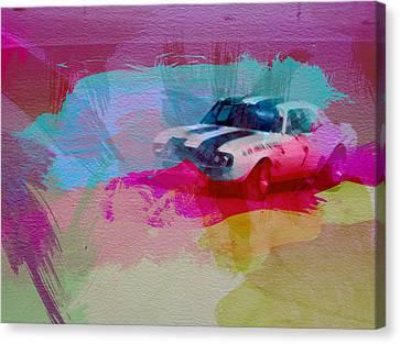 1968 Chevy Camaro Canvas Print by Naxart Studio