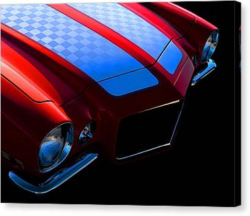 1971 Orange Camero Canvas Print by Douglas Pittman