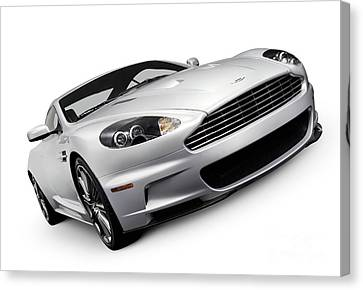 2009 Aston Martin Dbs Canvas Print by Oleksiy Maksymenko