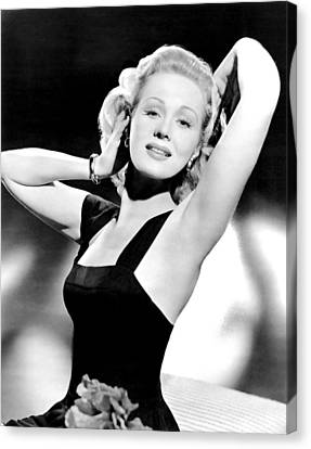 A Song Is Born, Virginia Mayo, 1948 Canvas Print by Everett