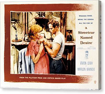 A Streetcar Named Desire, Vivien Leigh Canvas Print by Everett