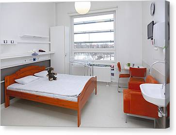 Accommodation For Patients And Families Canvas Print by Jaak Nilson