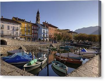 Ascona - Lake Maggiore Canvas Print by Joana Kruse