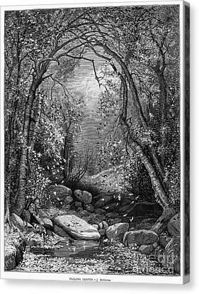 Autumn, 1873 Canvas Print by Granger