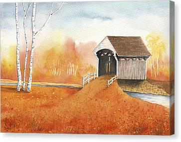 Autumn Color Canvas Print by Greg Dolan