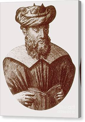 Avicenna, Persian Polymath Canvas Print by Science Source