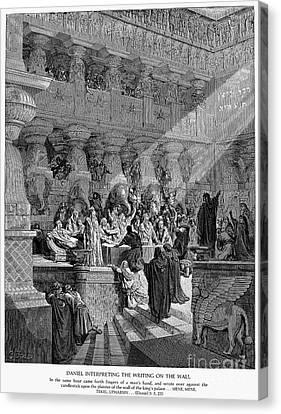 Belshazzars Feast Canvas Print by Granger