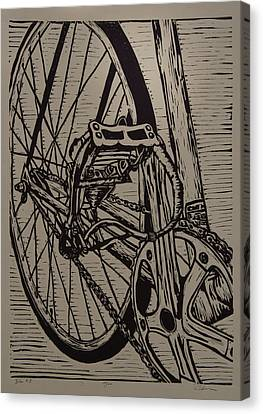Bike 3 Canvas Print by William Cauthern