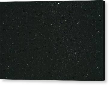 Cassiopeia Constellation Canvas Print by John Sanford