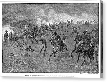 Chancellorsville, 1863 Canvas Print by Granger