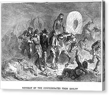 Civil War: Shiloh, 1862 Canvas Print by Granger