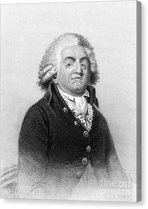 Comte De Mirabeau Canvas Print by Granger