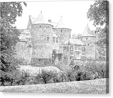 Corroy Le Chateau Gembloux Belgium Canvas Print by Joseph Hendrix