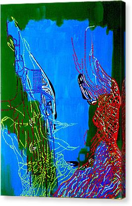 Dinka Marriage Canvas Print by Gloria Ssali