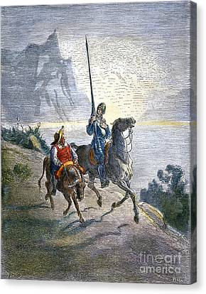 Don Quixote Canvas Print by Granger