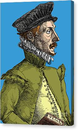 Felix Plater, Swiss Physician Canvas Print by Science Source