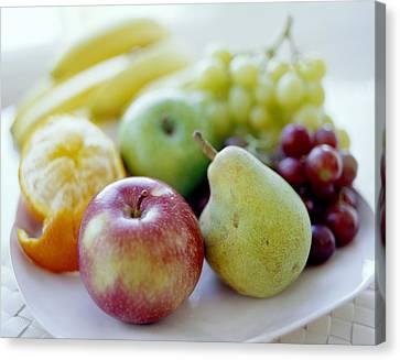 Fruits Canvas Print by David Munns