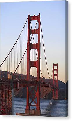 Golden Gate Bridge San Francisco Canvas Print by Stuart Westmorland