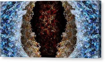 Iris Canvas Print by Christopher Gaston