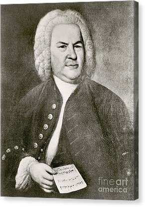 Johann Sebastian Bach, German Baroque Canvas Print by Photo Researchers