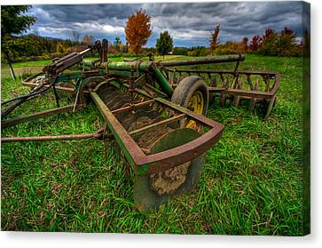 John Deere Canvas Print by Mike Horvath