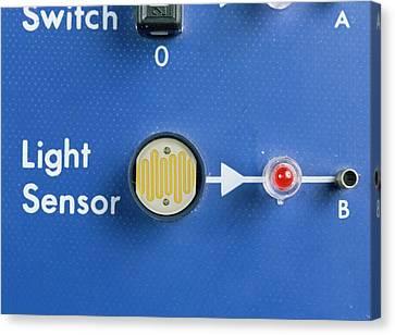 Light Dependent Resistor Canvas Print by Andrew Lambert Photography