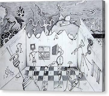 Loganville Canvas Print by Dan Twyman