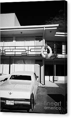 Lorraine Hotel Site Of The Murder Of Martin Luther King Now The National Civil Rights Museum Memphis Canvas Print by Joe Fox