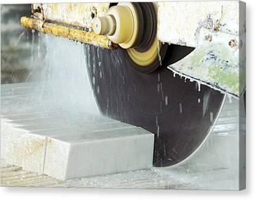 Marble Quarrying Canvas Print by Ria Novosti